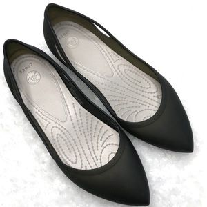 "Crocs Women's ""Rio"" Pointy Toe Ballet Flats SZ 8"